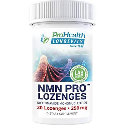 NMN Pro 250 mg 30 lozenges Nicotinamide Mononucleotide NAD+ Precursor