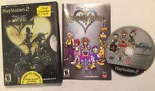 US SONY PLAYSTATION 2 PS2 GAME DISNEY KINGDOM HEARTS 1 / I COMPLETE NTSC -U/C