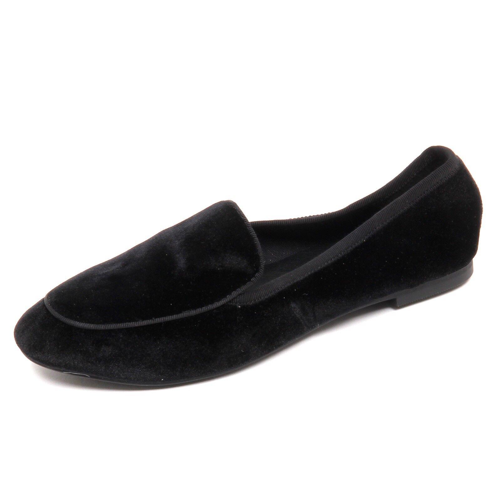 D5294 (sin Caja) mocassino Windsor Smith Terciopelo Negro mujer Mujer Mujer Mujer Mocasín  tienda hace compras y ventas