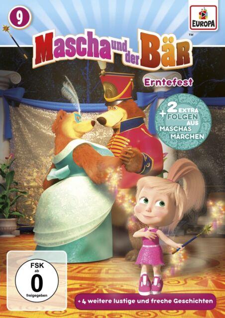 Mascha und der Bär - Mascha und der Bär - Erntefest, 1 DVD