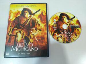El-Ultimo-Mohicano-Daniel-Day-Lewis-DVD-Extras-Espanol-English-Region-2