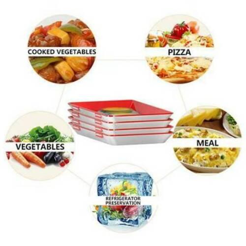 Aufschnitt-Box Kreatives Tablett für Lebensmittel-Konservierung Essenstablett DE