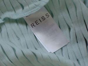 REISS-IceGreenStretchSlashStripedL-sSzXS-NWT