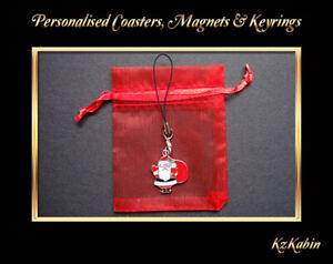 Hedgehog Mobile Phone Handbag Clip On Charm Zipper Pull Christmas Gift New
