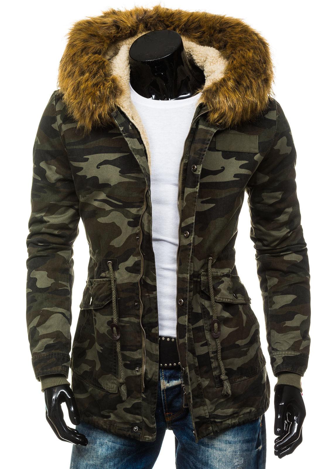 BOLF hommes veste d'hiver Chaleur Veste Veste Veste Hiver Manteau Parka Manteau Capuche 4d4 Nourriture 97e7ea