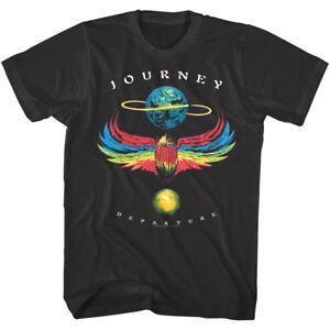 Journey-Departure-Vintage-Album-Cover-Men-039-s-T-Shirt-Rock-Band-Tour-Concert-Merch