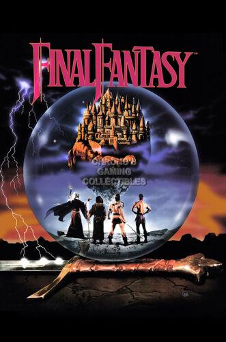 RGC Huge Poster Final Fantasy Original NES Art EXT625