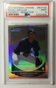 Miguel-Andujar-2013-Bowman-Chrome-Refractor-RC-NY-Yankees-PSA-9