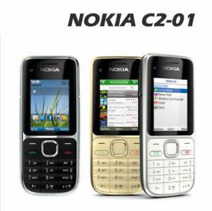 Original Nokia C2-01 3MP Camera 3G UMTS Bluetooth Radio Phone