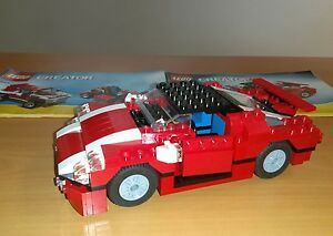 LEGO-CREATOR-3-en-1-N-5867-La-voiture-SUPER-SPEEDER-Complet-notices