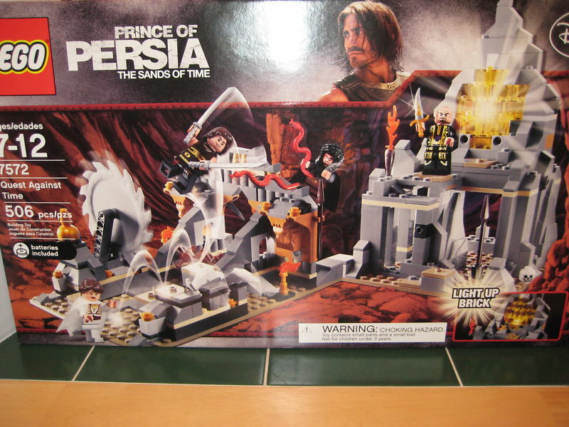 Lego Prince of Persia   7572 Quest Against Time NEW