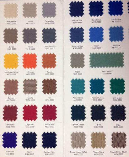 "Sunbrella Fabric 46/"" Wide By the Yard"