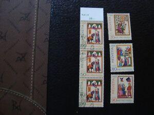 Switzerland-Stamp-Yvert-Tellier-N-1301-x3-Cancelled-1300-1302-1303-N-MNH