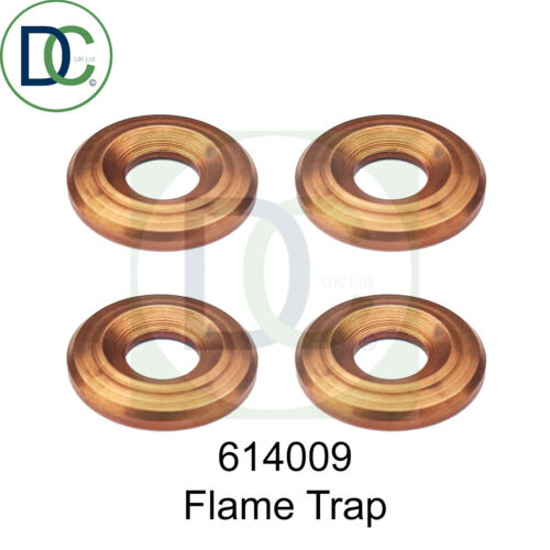 Flame trap injector seal washer pack of 4 Ford Orion 1.6 D Heat shield