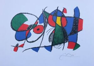 MIRO-Joan-d-039-apres-Vol-II-Litho-VIII-LITHOGRAPHIE-numerotee-signee-500ex