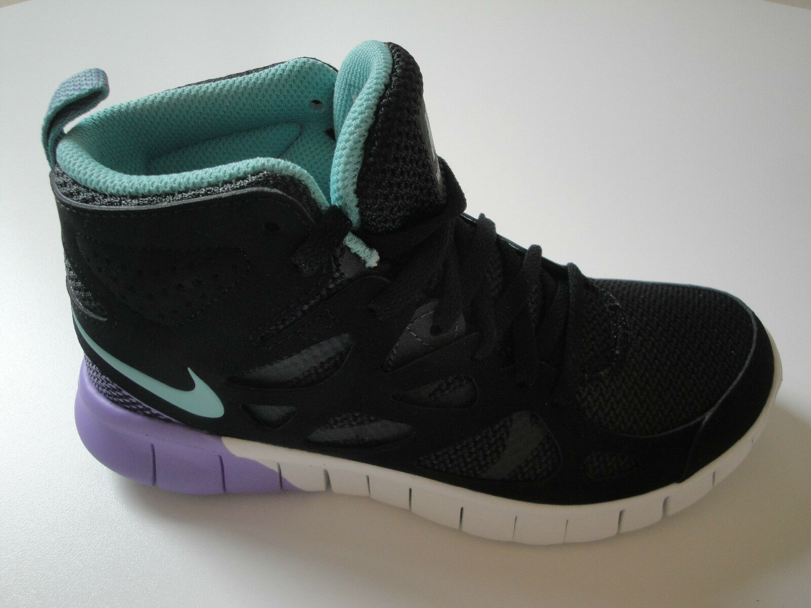 Nike Free run 2 mid High-Top señora/chica High-Top mid cortos, d05151