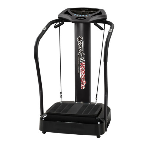 1.0HP 3D Vibration Platform Exercise Machine Full Body Fitness With Arm Straps