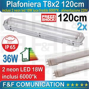 LED bar Applique Ceiling Slim Neon Tube LED 150cm 4000k 6000k NEW OFFER