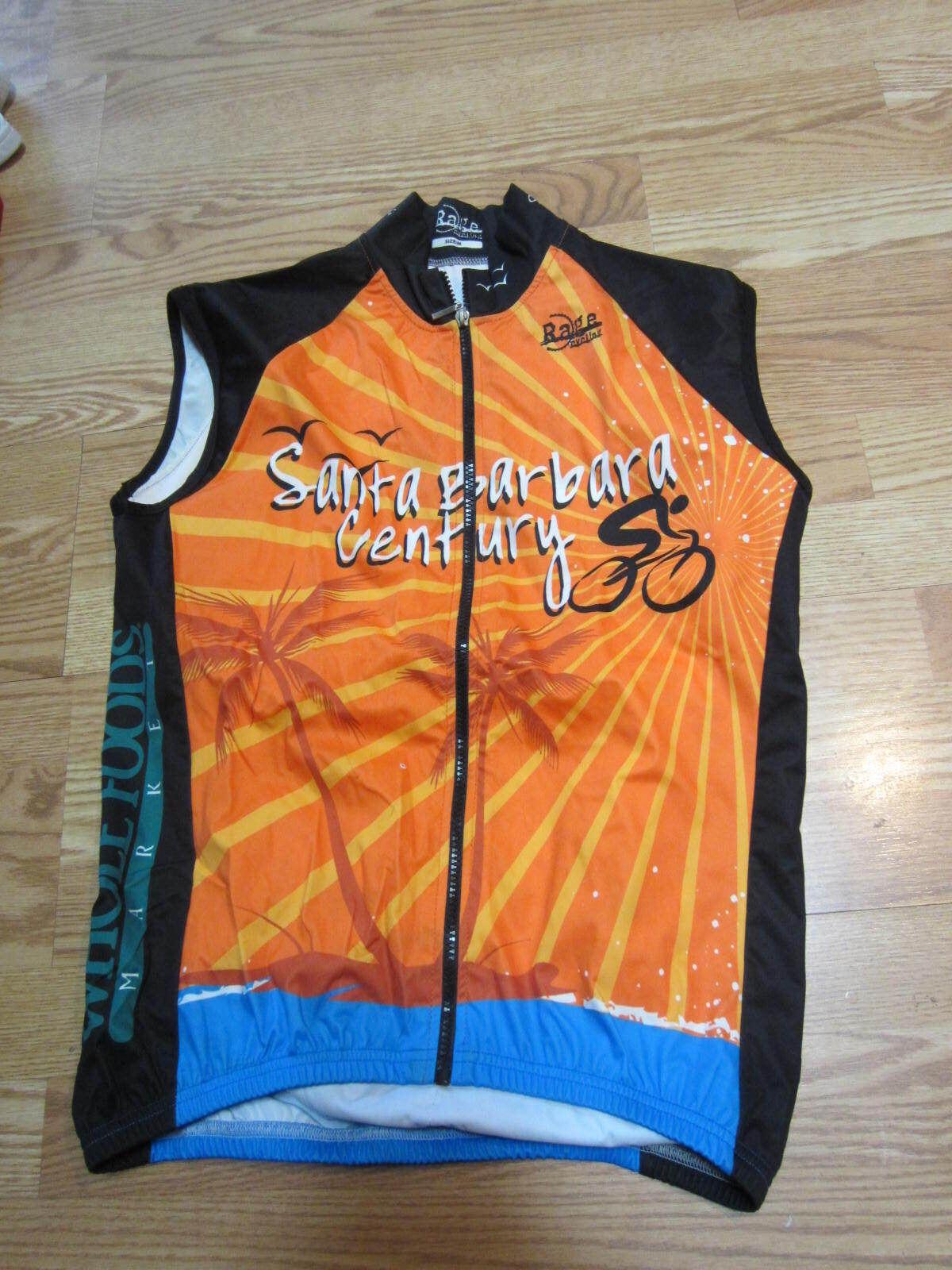 Santa barbara  century bike jersey rage cycle whole foods med  leisure