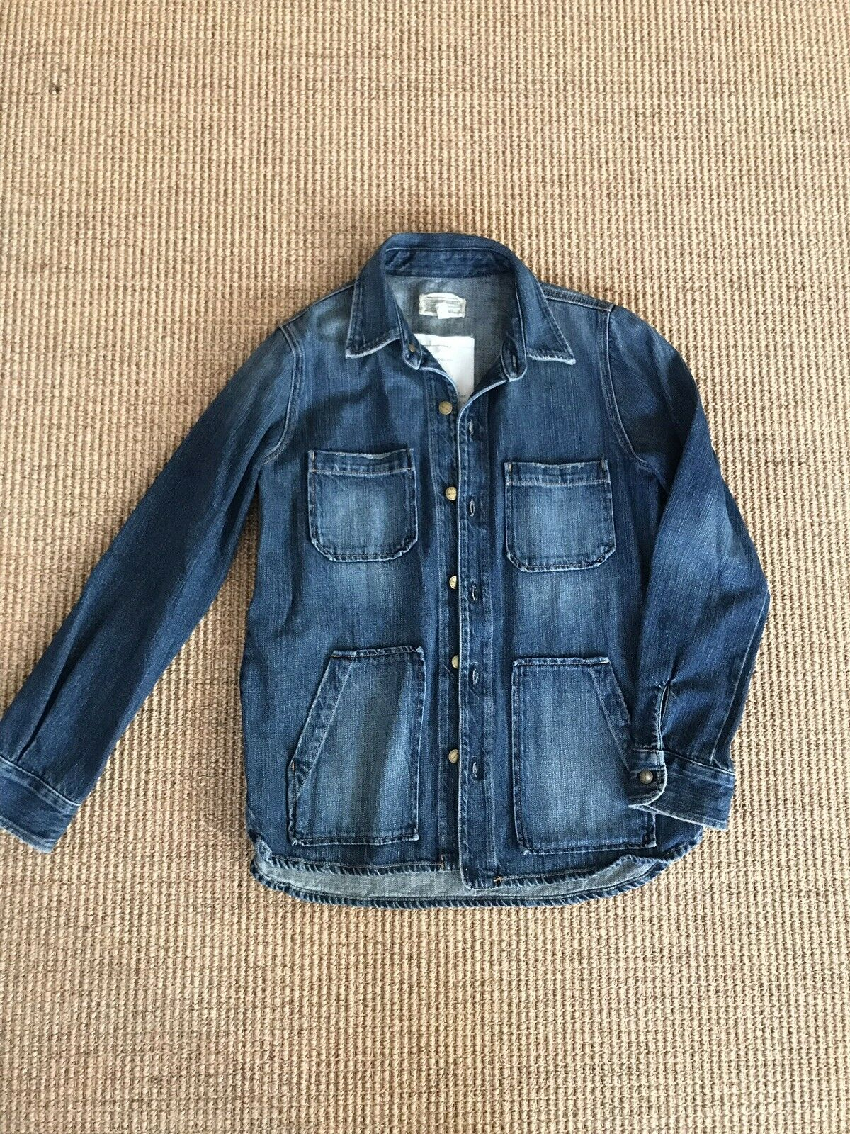 Current Elliott The Workman Denim Shirt 2