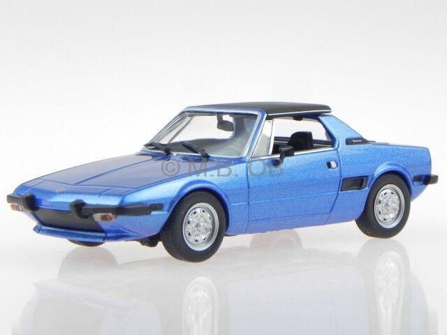 Fiat X1 9 1974 1974 1974 blau Modellauto 940121661 Maxichamps 1 43 9c1c80