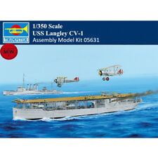 Trumpeter 05631 1/350 Scale USS Langley CV-1 Plastic Assembly Model Ship Kit