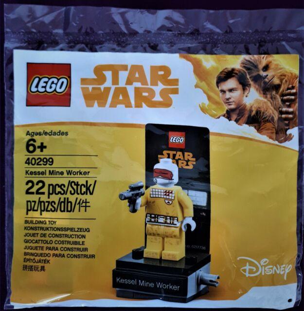 Lego Star Wars 40299 Kessel Mine Worker Rare Minifigure NEW Limited Edition