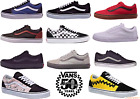 Vans Old Skool Classic Skate Shoe Black True White Red Grey,Red Old Skool