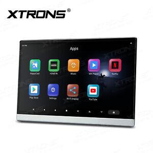 """8-Kern 13,3"""" Android 10 Full HD KFZ Kopfstütze Monitor Bluetooth HDMI USB WIFI"""