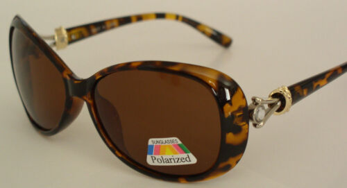 New Fashion designer sunglasses 9803 Tortoise //Brown Polarized lens
