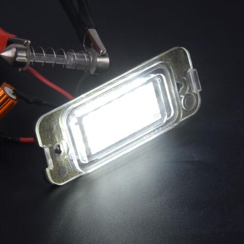 2x LED License Plate Light Lamp Fit For Mercedes W163 W164 X164 ML GL W251//V251