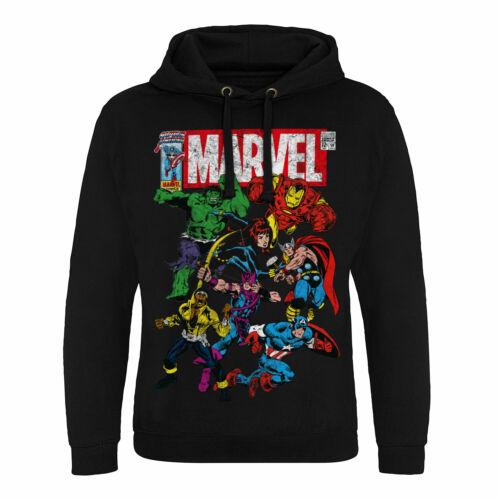 xxl Licenza Cappuccio S Comics Taglie Marvel Con Epic Ufficiale Team up Felpa wRAxvqwFn