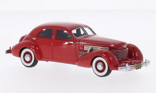 Cord 812 Supercharged Sedan  Red  1937 (Neo Scale 1 43   45740)