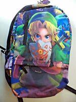 The Legend Of Zelda Link Full Size Nintendo Backpack Brand