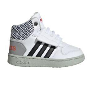 Détails sur Adidas Chaussures Enfants Baskets Mode École SPORTS Hoops Mi 2 Garçon EE8549