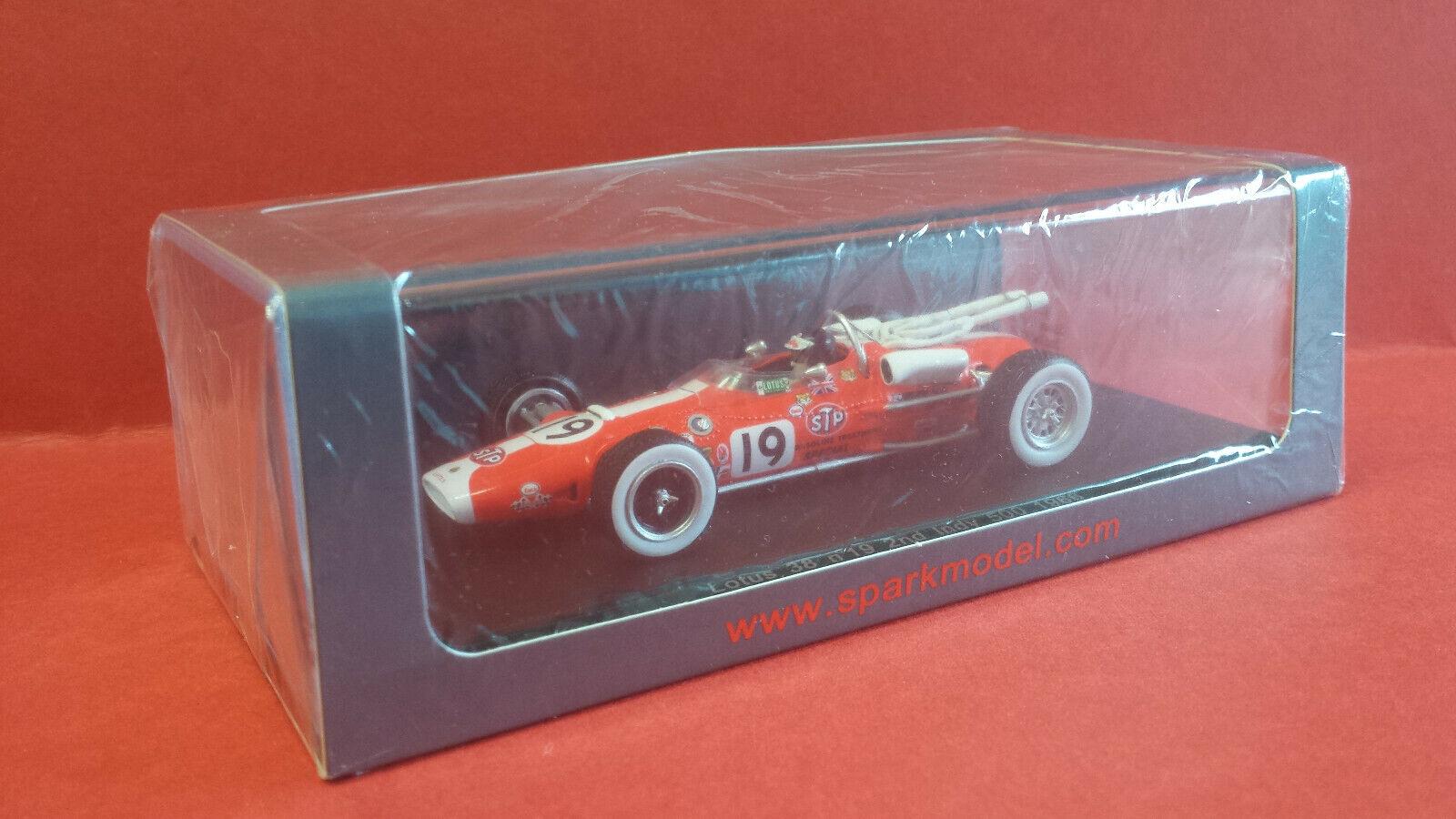 SPARK S2390 1 43 Lotus 38  19 Jim Clark Indy 500 1966.