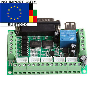 5-Axis-MACH3-CNC-Breakout-Board-Interface-for-Stepper-Motor-Driver