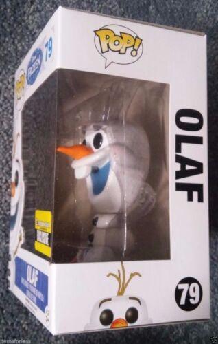 Exclusive Glitter Snowman Funko NEW Disney Frozen Olaf POP