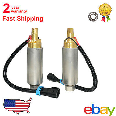 Set of Electric Fuel Pump For MerCruiser V8 305 350 454 502 861156A1 /& 861155A3