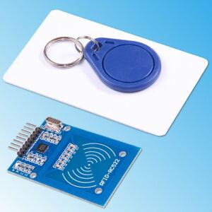 Details about MFRC-522 RC522 RFID NFC IC Card Inductive Module with Card  Key Chain DIY Arduino