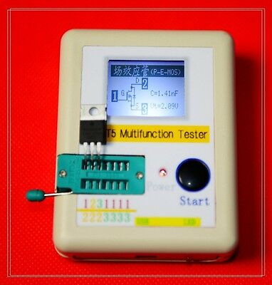 LCR-T5 graphical multi-function tester capacitor + inductance + resistor + SCR