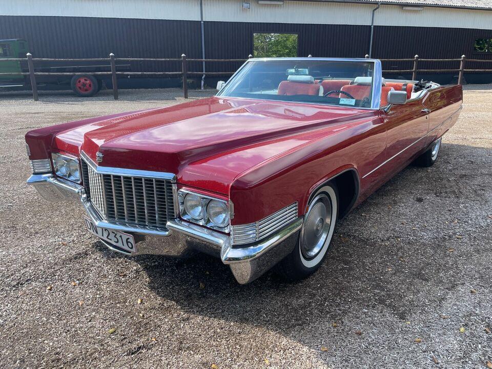 Cadillac DeVille 7,7 Cabriolet aut. Benzin aut.