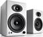 Audioengine-A5-Wireless-Active-Speakers-WHITE-Powered-Bookshelf-Bluetooth-HD-PC miniatura 1