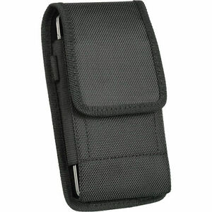 Belt-Clip-Vertical-Cell-Phone-Holster-Pouch-Case-Cover-For-iPhone-XS-Max-8-Plus