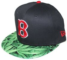 43f0988aad0 Boston Braves   Red Sox Weed Brim 9FIFTY New Era SnapBack Navy   Red