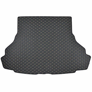 Motor Trend Pu Leather Trunk Mat Cargo Liner For Ford