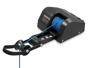 Pactrade-Marine-Boat-Pontoon-35-Electric-Anchor-Winch-100-ft-Rope-Freshwater