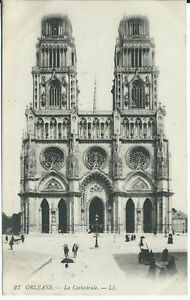 CPA-45-ORLEANS-La-Cathedrale