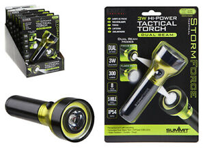 Summit Stormforce Tactical Torch And Headlight *Free Postage*