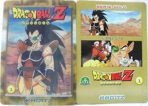 Dragon-Ball-Z-034-Raditz-034-Giochi-Preziosi-serie-GOLD-n-1-lenticolari